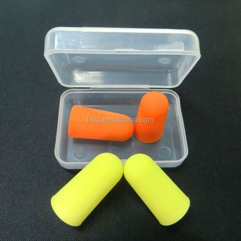 2016 new type of ear plugs similar as 3M ear plugs CE approved PU foam hearing protection ear plug for sale