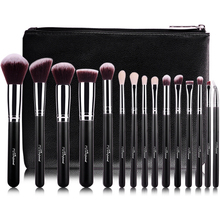 MSQ 15pcs Synthetic Hair Makeup Brush Set Private Label Make Up Brushes Wholesale Makeup Brushes