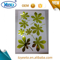 New Arrival Solid Color Home Decoration Wall Flower Sticker
