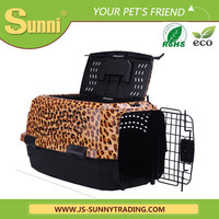 Customized cheap dog transport box plastic dog house