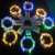 Flower vase decoration led copper wire led string light powered by CR2032