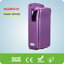 Sanitary Equipment Hotel Supplies Jet Hand Dryer,Restaurant Appliances Automatic Jet Hand ,Ceramic absorber CE ,ROHS,SAA,INMETRO
