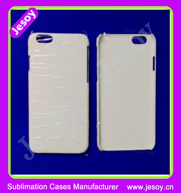 JESOY Best Seller Printable Blank PC Sublimation Phone Case 3D For iPhone 4 5 6 6plus Case