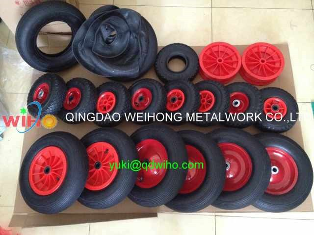 3.00-4 Pneumatic Rubber Wheel For Wheelbarrow Or Tools