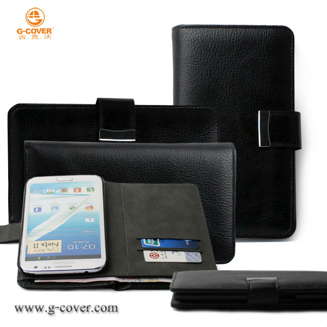Hot Selling Man's PU Leather Case for Samsung Galaxy Note2 N7100