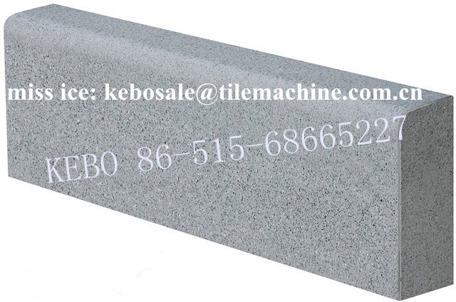 KB-125F hydraulic formed Kerbstone Making Machine / concrete kerbstone machine