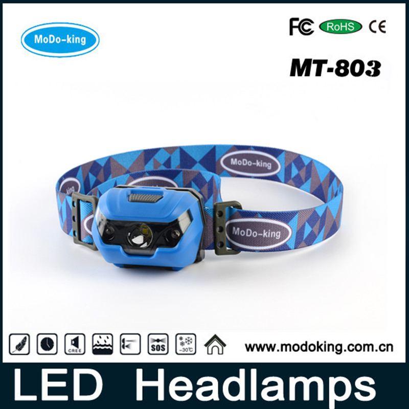MoDo-King Headlamp; Waterproof, Lightweight and Powerful Flashlight, Light Source Delivers 150 Lumens