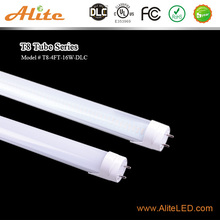 alite dlc led T8 4' 16w 1800lm double and end wiring dlc T8 led