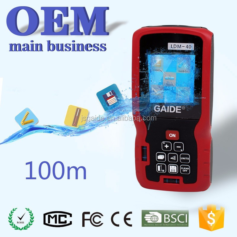 Electronic measure distance area volume instrument equipment