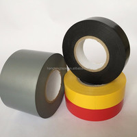 Electrical insulation strong stick PVC black tape roll