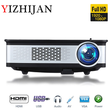 Retailer price 3000 lumens tv projector with 2000:1 contrast ratio