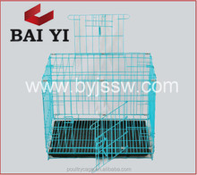 Best Selling Metal Dog Cage With Single Doors & Plastic Tray