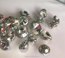 wholesale crystal diamond fastener with18*18 20*20 25*25 30*30mm