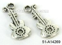 Tibetan style lead free and nickel free zinc alloy charm