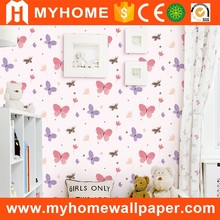 A21-101520 sweet home decor pasting machine wholesale kids wallpaper