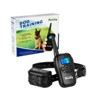 Hot Selling Product Electronic Shocking Vibration Beeper Remote Bark Control Dog Training Collar