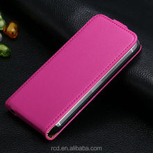 Luxury Top Quality Retro Genuine Real Leather Flip Cover Case for iPhone 5 5S 4 4S 5C 5G Open Up And Down Waterproof ac934