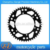 Low price motorcycle rear sprocket for wholesales