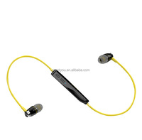 Sport type wireless bluetooth stereo headset cordless headphones wireless headset for phone with CSR V4.1 90mAh