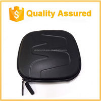 Earphone handsfree headset HARD EVA Case - Clamshell/MESH Style with Zipper Enclosure and Inner Pocket