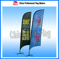 Election promotional items Political banner promotional feather flag