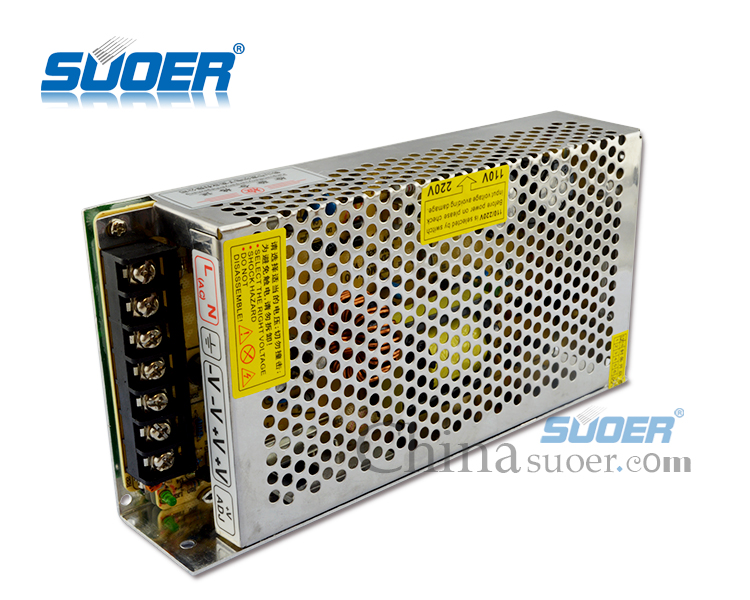 Suoer Factory Price 120W LED Power Supply DC 12V 10A Power Supply
