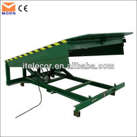 High quality factory warehouse container stationary loading ramp