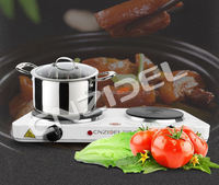cnzidel 2 burner 2500w double electric fondue food warmer