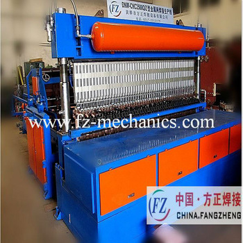 HIGH EFFICIENCY!automatic reinforcing wire mesh fence welding machine