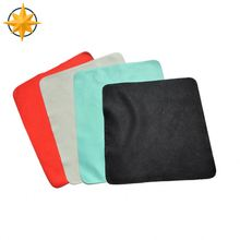 suede customized microfiber sunglasses eye cleaning cloth