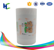 Touch comfortable breathable lamination film for diaper