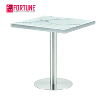 japanese type classic marble 70x70 dining table