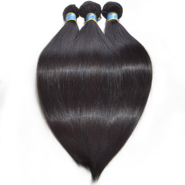 Full cuticle top grade silky straight <strong>hair</strong> unprocessed virgin brazilian human <strong>hair</strong>