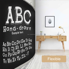 Self Adhesive Chalkboard Wall Mount Erasable Message Board for School, Home