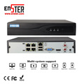 Alibaba Best Sellers Enster Software Download Cam Security 4CH NVR PoE for Video Camera