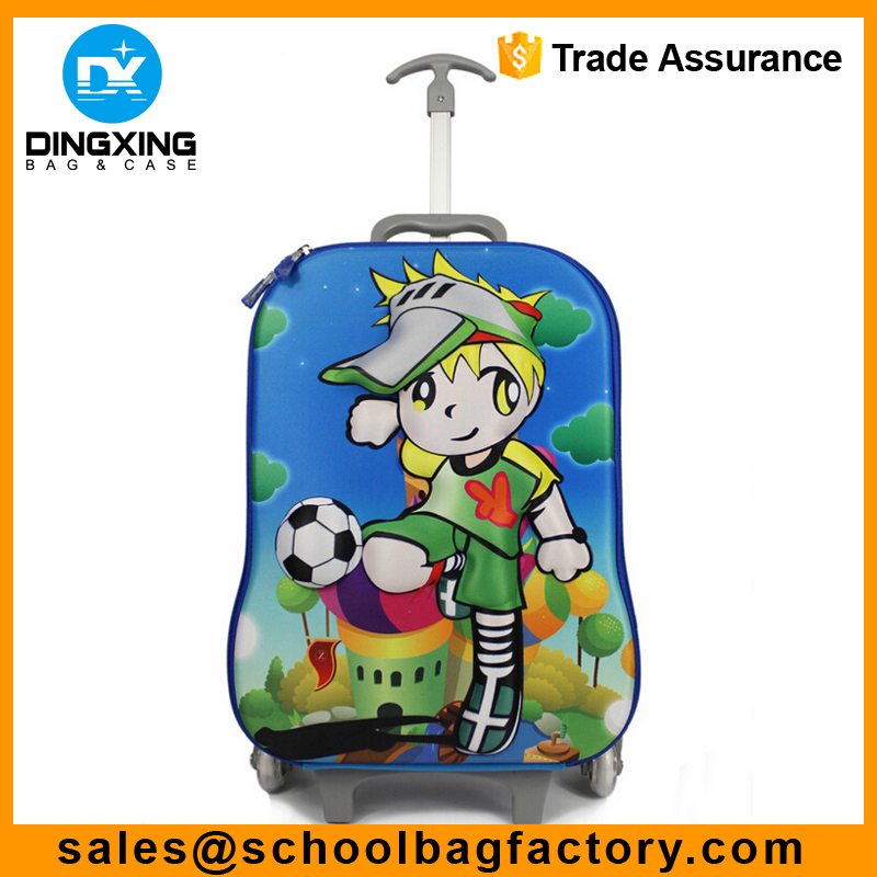 Children trolley case 3D cartoon eva trolley bag Kids Trolley Bag