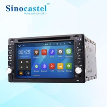 Sinocastel Best Selling 6.2 Inch Touch Screen All In One Double Din Android Car Radio Cd For Universal 2Din With 3G Gps Radio