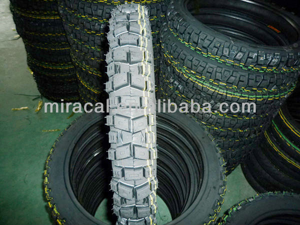 Off Road 2.75-17 Motorcycle Tire ans Tube