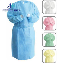 hospital customizable disposable waterproof nonwoven medical protective cardinal health isolation gown for surgical instrument