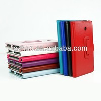 High quality Crazy horse grain PU leather cover case for ASUS MeMo Pad7 372