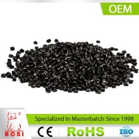 Injection Masterbatch Plastic Carbon Black Master Batch For PP/ABS/AS/HIPS/PS