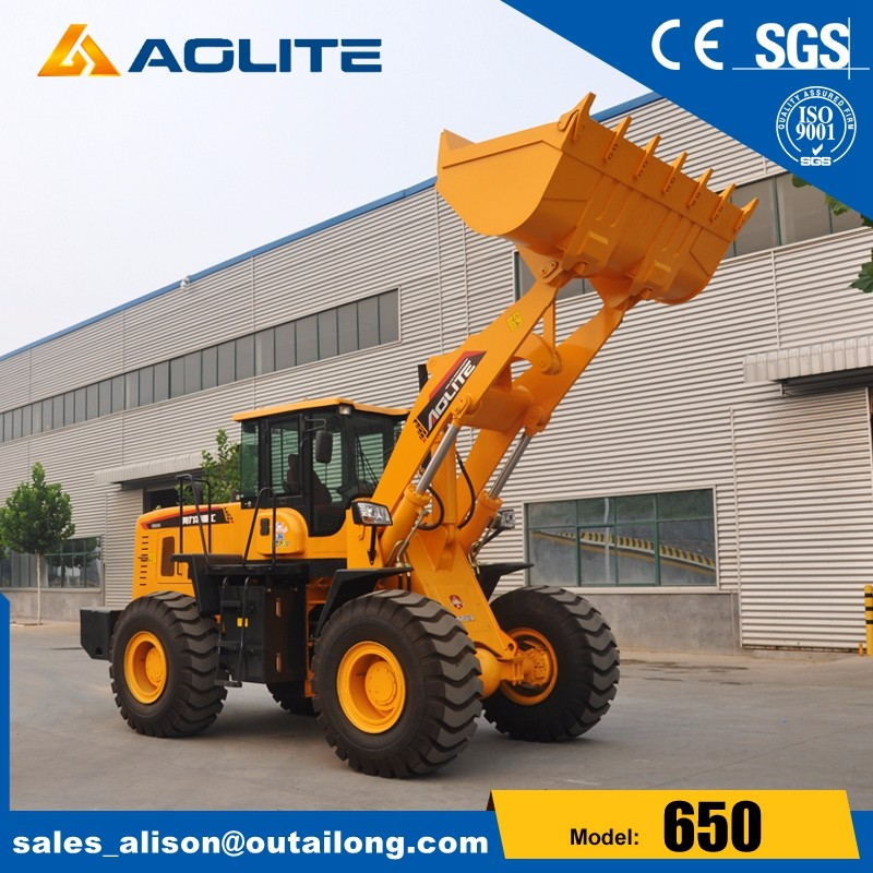 AOLITE 650B garden tractor with front loader