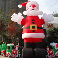 Best Brand Hot-selling Inflatable Santa Claus/Xmas Father/Inflatable Christmas