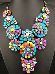 5 colors available statement necklace choker statement necklace N5016