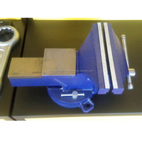 Heavy duty France type bench vise