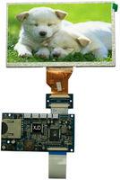 7 inch oled display 800x480 control board SD card recording