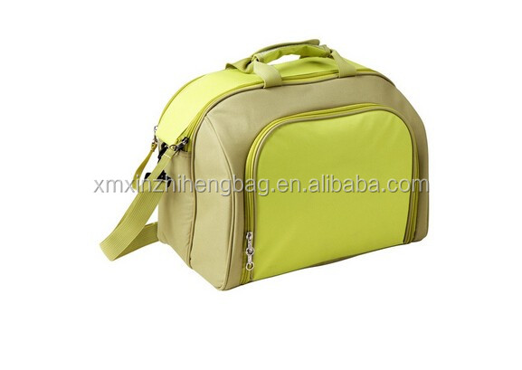 4 Person picnic bag with insulated food compartment perfect including tablewares