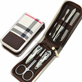 "*Accept Amazon order"" zipper 7pcs manicure set pedicure set"