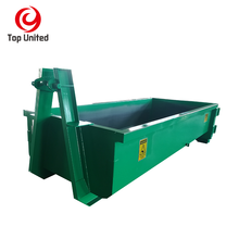 12m3 CBM scrap metal heavy duty hooklift hook lift bin