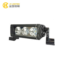 9w single row led light bar for mini farm tractor/forklift, depo auto lamp, 9w light bars trucks led